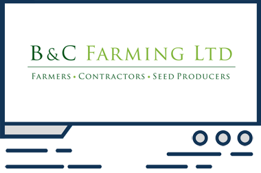 Featured web design BC Farming
