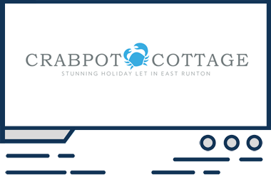 Featured web design Crabpot Cottage