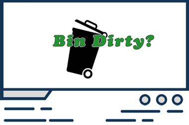 Bespoke web design - Bin Dirty