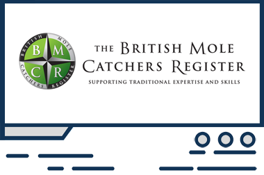 Featured web design - British Mole Catchers Register