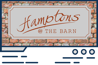 Featured web design - Hamptons @ the Barn
